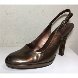 Nine West NWKARA Women Shoes Sz 6 M Cooper Leather